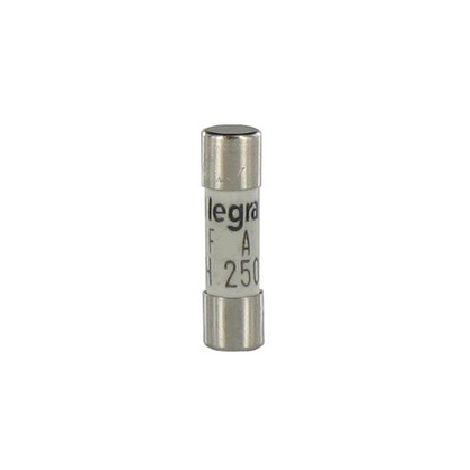 Legrand - Juego de 10 mini cartuchos cilíndricos 10A
