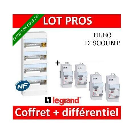 Legrand - LOT PROS - 401214+411650x3+411651