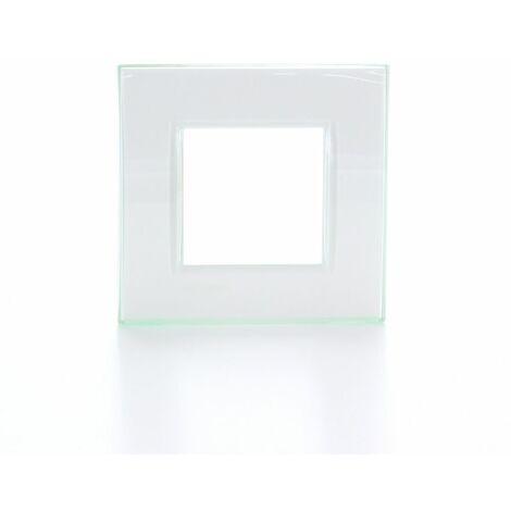"""main image of """"Legrand placa de cubierta - Livinglight 2 módulos aqua"""""""