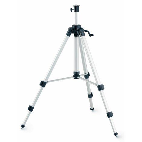 LEICA 302000 - Trípode de aluminio FS 10 con columna telescópica para niveles láser rotativos Roteo