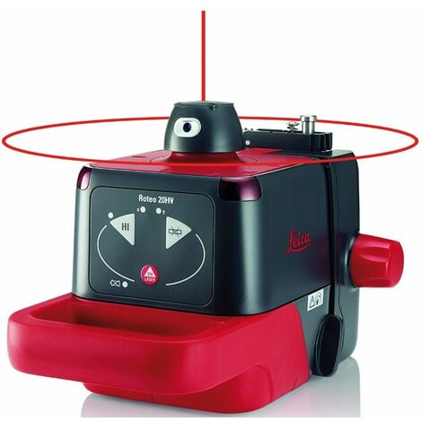 LEICA 772789 - Nivel láser rotativo Roteo 20HV (Alcance 300 m; Precisión ± 3 mm)