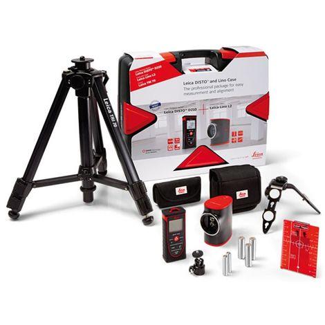 LEICA 806656 - Pack medidor láser Disto D210 + nivel láser Lino L2