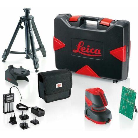 LEICA 817857 - Pack nivel láser de líneas Lino L2G+ Pro case (Alcance con/ sin receptor 60/ 30 m; Precisión ± 1,5 mm)