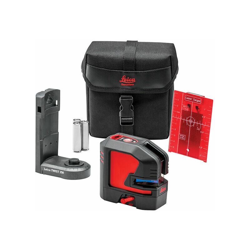 Image of Geosystems 848435 Lino L2S-1 Red X Line Laser Starter Pack - Leica