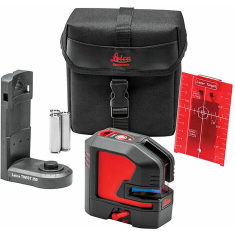 Leica Geosystems 848435 Lino L2S-1 Red X Line Laser Starter Pack
