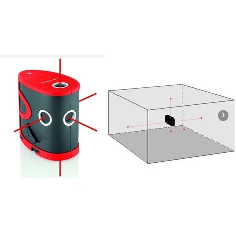 Leica - Niveau laser auto 5 points portée 15 m - LINO P5
