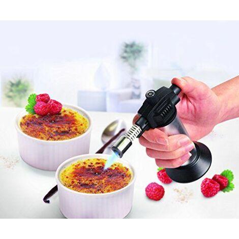 Leifheit 03118 Coffret Cadeau pour Crème Brulée Blanc