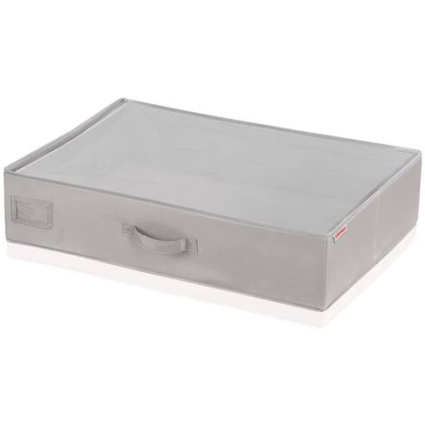 Leifheit 2 pcs Underbed Storage Boxes Small Grey 64x45x15 cm