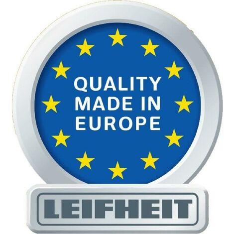 LEIFHEIT 51001 Kit Aspirateur lave-vitres Dry & Clean- Manche intégré - Aspiration a 360° - 28 cm