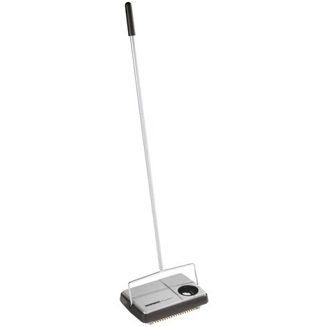 Leifheit Carpet Sweeper Regulus Black and Silver 11706
