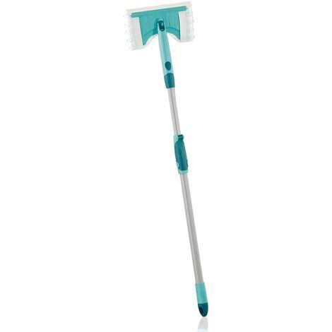 Leifheit Limpiador de azulejos y baños Flexi Pad con mango 41700 - Verde