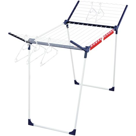 Leifheit Standing Airer Pegasus 200 with 4 small holders - Multicolour