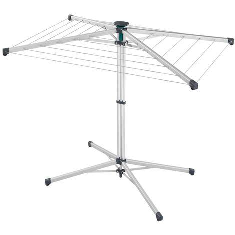 Leifheit Tendedero de ropa giratorio con funda LinoPop-Up 140
