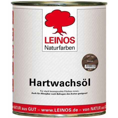 Leinos 290 Hartwachsöl 102 Ebenholz 0,75 l