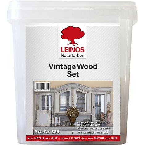 Leinos 336 Vintage Wood Set