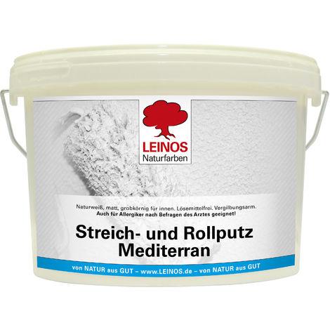 Leinos 680 Streich- und Rollputz Mediterran 2,50 l