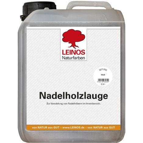 Leinos 927 Nadelholzlauge 2,50 l Weiß