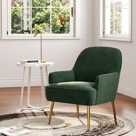 Leisure Velvet Armchair Tub Chair