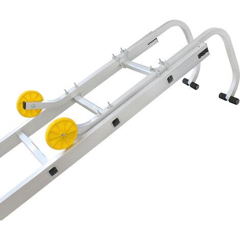Leiter-Dachhaken, Universal-Dachhaken für Leiter, 0,93 Meter, Maximale Belastbarkeit: 150 kg