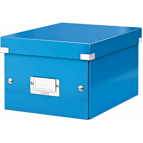 Leitz Blue Click & Store Storage Box WOW A5 Small