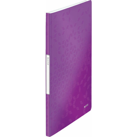 Leitz Display Book WOW A4 PP 20 Pockets Purple