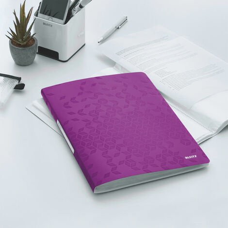Leitz Display Book WOW A4 PP 40 pockets purp