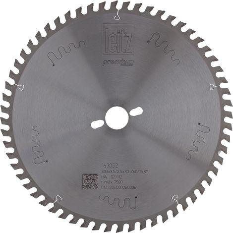 LEITZ Formatkreissägeblatt HW ø 303 x 3,5 x 30 mm Z60 Dachzahn/Hohlzahn positiv