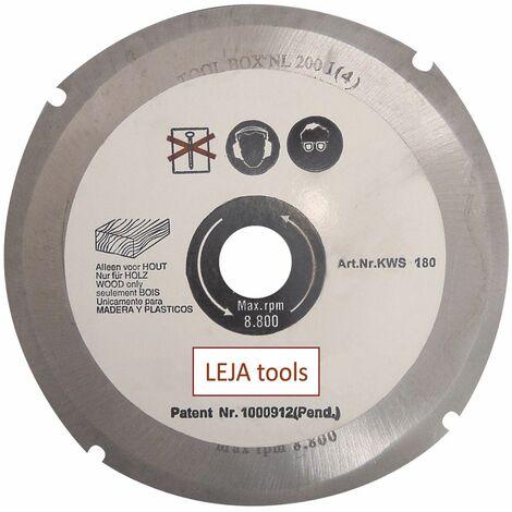 LEJA tools - Disco tronzador fresador para amoladoras angulares WOOD BLADE - 4 dientes