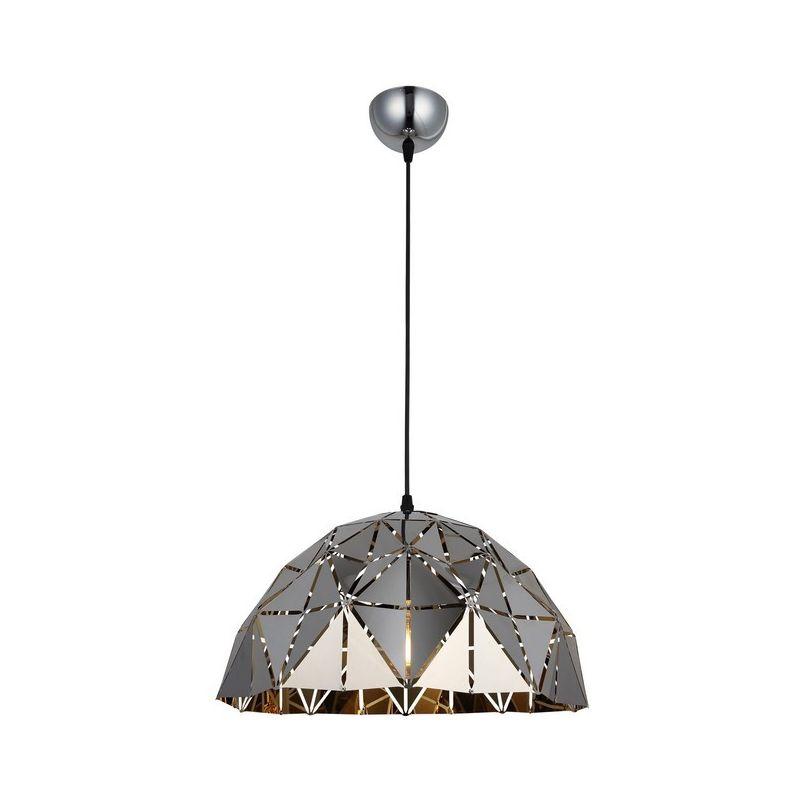 Lema Haengelampe - Kronleuchter - Deckenkronleuchter - Chrom aus Metall, 34 x 34 x 96 cm, 1 x E27, 40W