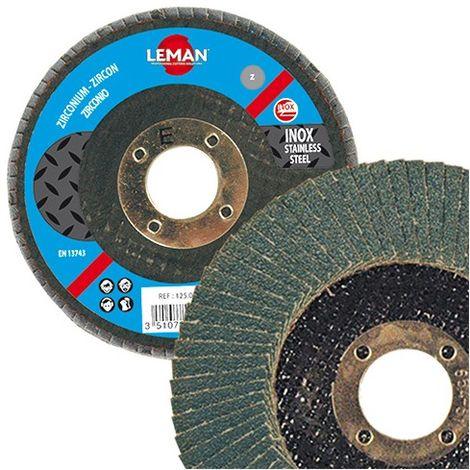 LEMAN 10 disques à lamelles zirconium - Bombé