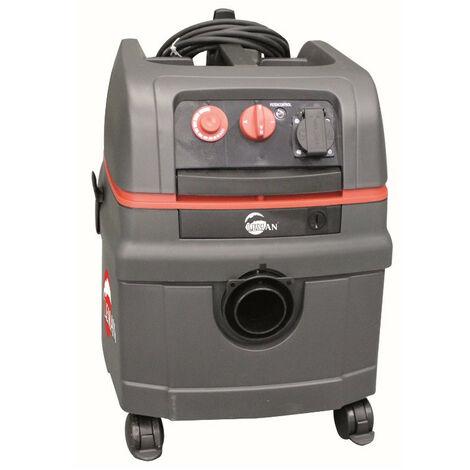 Leman - Apirateur Polypro PRO eau et poussières 25L 1400W - ASP 255