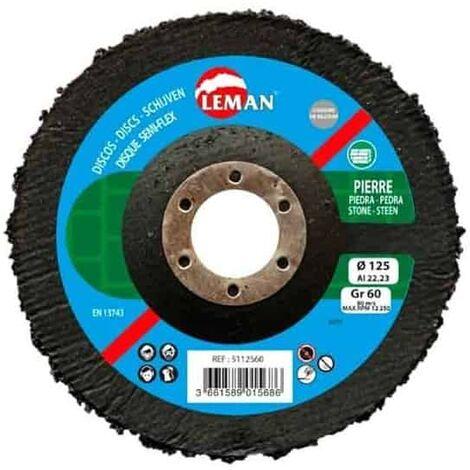 LEMAN Disques semi-flex Ø125mm - 511