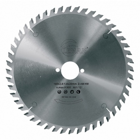 Leman - Lame Carbure / Portative Festool D.160x20 Ep2,5 48z Tp