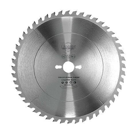 Leman : Lame circulaire carbure 300 z= 48 intermediaire