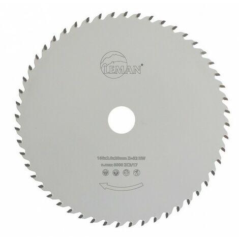 Leman - Lame de scie circulaire multi-matériaux pour portatives diam 160 mm
