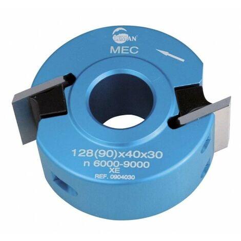 Leman : porte outils 40 mm a profiler toupie arbre 30 mm