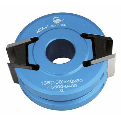 Leman : Porte outils 40 mm de sécurité toupie arbre 30 mm