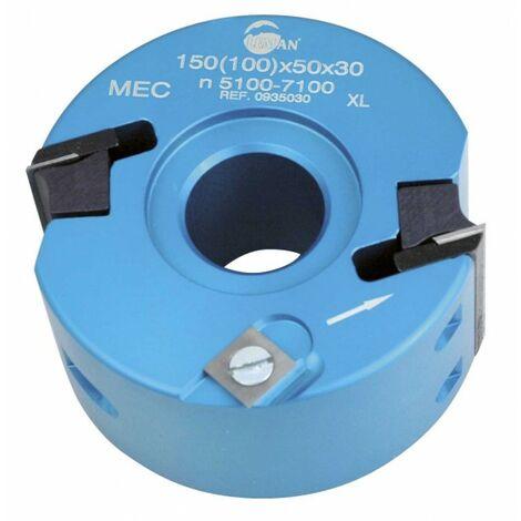Leman : Porte outils à profiler 100 x 50 mm toupie arbre 30mm