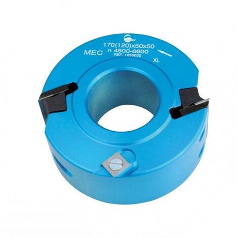 Leman - Porte-outils à profiler / feuillurer diam. 120mm al. 50 Ht. 50mm - 123.50.50 - TNT