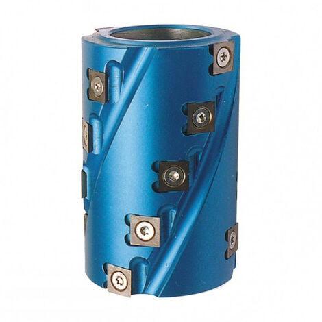 Leman - Porte-outils hélicoïdal à chantourner et à calibrer D.80x120x50 mm dents 18 - TNT