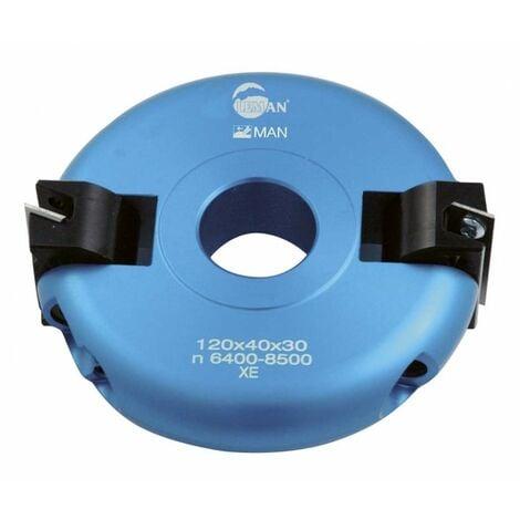 Leman : Porte-outils multipente inclinable + - 90° toupie 30 mm