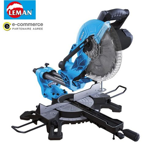 Leman - Scie à onglet radiale 2000W 255mm - SOR250
