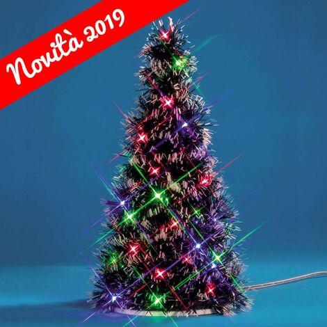Immagini Di Alberi Di Natale Addobbati.Lemax Albero Di Natale Addobbato Multi Light Fir Tree 94522