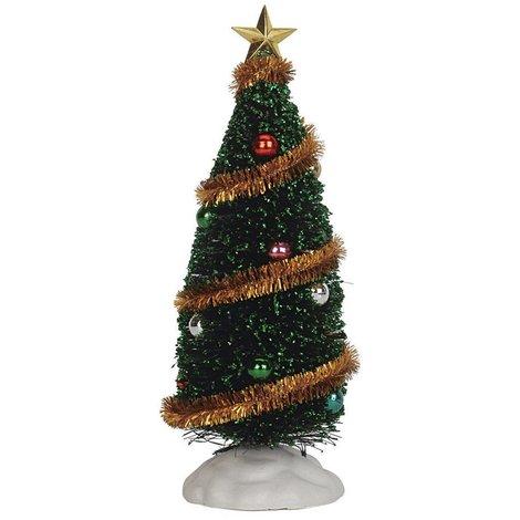 Alberi Di Natale Addobbati Foto.Lemax Albero Di Natale Addobbato Sparkling Green Christmas Tree Cod 04492