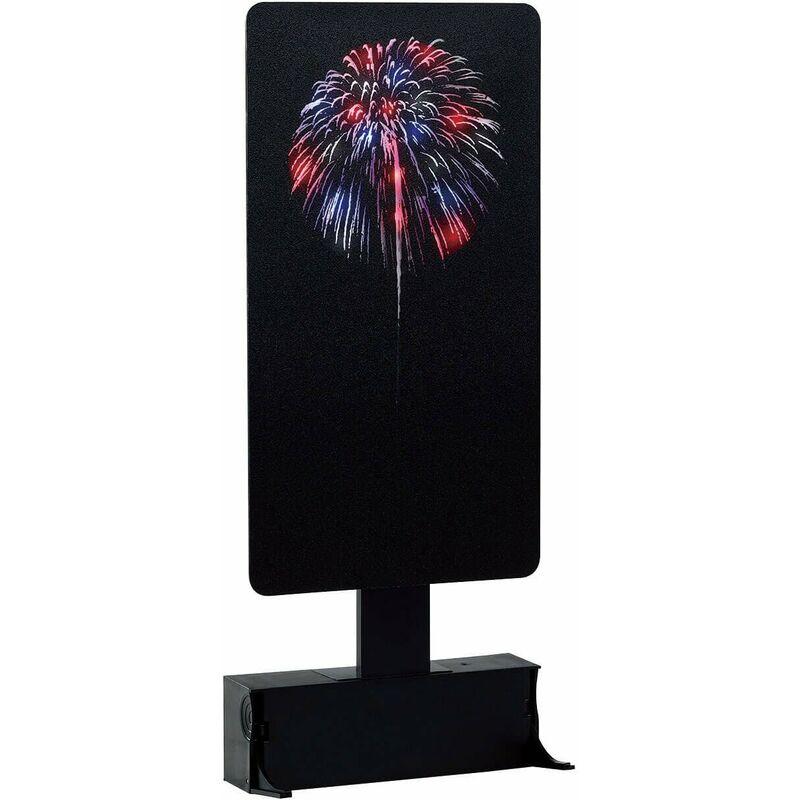 Red, White & Blue Fireworks, B/O (4.5V) - LEMAX
