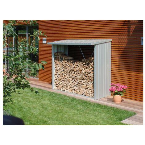 Leñero Caseta Metalica Biohort Jardin Woodstock 230