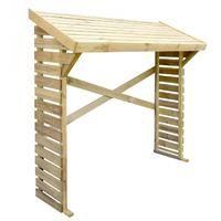 Leñero de madera Denver 1,2 m2