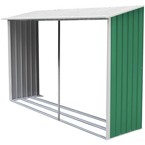 Leñero para Caseta Metália Dallas 10,85 m²