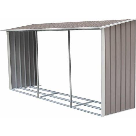 "main image of ""Leñero para caseta metálica Dallas 15,16 m²"""