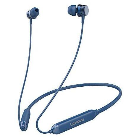 Lenovo HE15 Blue - Casque Bluetooth sportif avec microphone